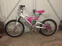 Girl's Magna Sparkler mountain bike suit 8-11