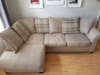 *** DFS Beige Corner Sofa - Great Condition - Doesn't Suit New House - £275 ONO - Must Go ***