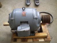 30HP Electric Motor Used-- Vintage BROOK MOTOR C 324