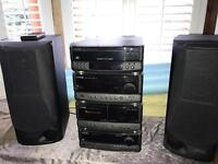 Kenwood hi fi stereo system