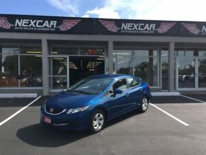2014 Honda Civic LX 5 SPEED A/C CRUISE CONTROL ONLY 47K