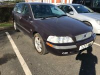 2001 VOLVO V40 2.0 T PETROL MANUAL ESTATE GOOD DRIVE CHEAP CAR MOT SPACIOUS CHEAP CAR NOT VECTRA S40