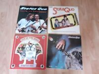 4 x status quo vinyl LPs