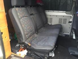 Mercedes Vito 639 rear seat with fittings fit 2004 on