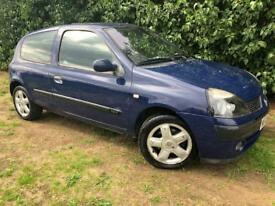 RENAULT CLIO 1.2L - 1 YEARS MOT - ECONOMICAL AND RELIABLE