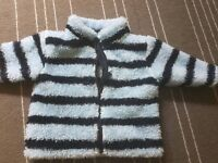 Baby boy soft jacket 3-6 months from NEXT