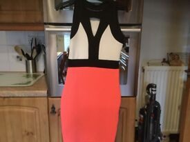 QUIZ DRESS size 8. IMMACULATE CLEAN CONDITION. Great for holidays etc.