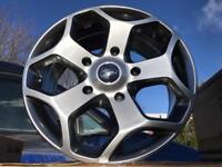 "4 18"" alloy wheels alloys rims tyre tyres transit ford van commercial"