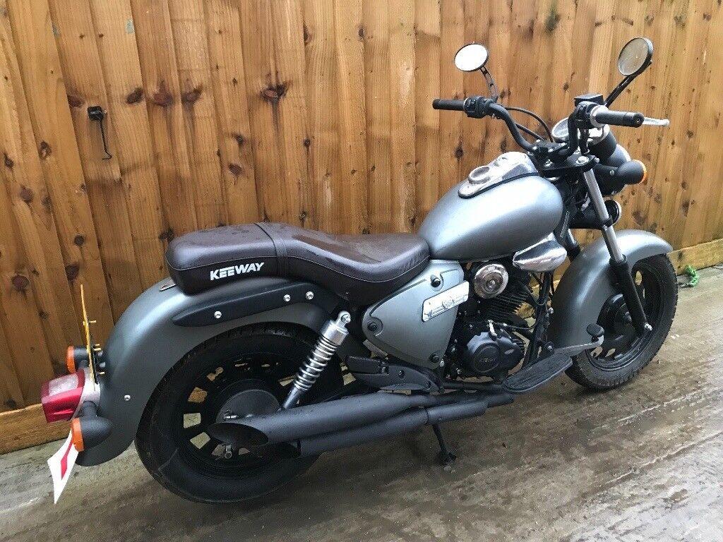 Keeway superlight 125cc 2013 12 months mot chopper bike