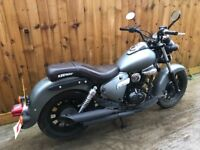 Keeway superlight 125cc 2013 12 months mot chopper bike