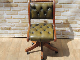 Compact green captains chair (Delivery)