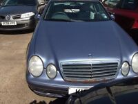 Mercedes CLK breaking for parts
