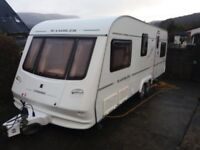 compass rambler 6 berth 2004 twin axle with awning