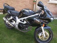 Suzuki SV 650 Great Ride New Tyre New Battery New Exhaust 9 Months MOT Grab Yourself A Bargain !!