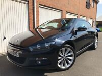 2009 09 Volkswagen Scirocco GT 2.0 TDI 80,000 Miles LONG MOT+EXC COND not 320d coupe gti gtd a3 golf