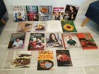 mixture of cooking books