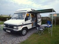 Talbot Express Autosleeper campervan. Low mileage, good condition, very reliable.