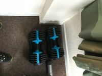 Men's Health Adjustable Dumbbells 25kg (pair)