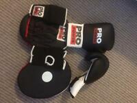 Pro Power Boxing Glove Set