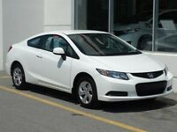 2013 Honda Civic LX Bluetooth! Climatiseur!