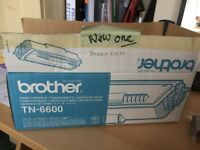 Toner for Brother TN-6600 Printer with 6 compatable ink cartridges (NEW)