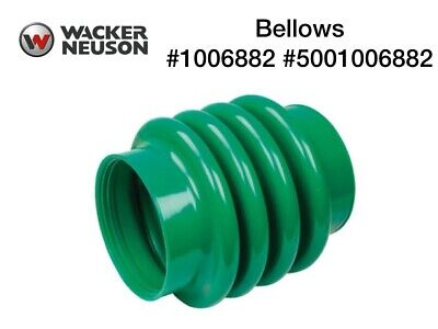 Wacker Neuson Wacker jumping jack rammer tamper boot bellows gray Oem 0177356
