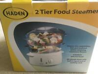 2 Tier Food Steamer. Brand New