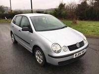 2004 vw polo 1.2 85k new timing chain, service