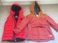 BOYS AGE 7 COATS NEXT/ZARA EXCELLENT CONDITION