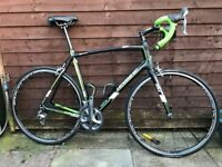 58cm Full carbon road bike - Haibike Challenge RX with 20 speed Shimano Ultegra