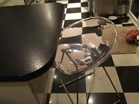 Iconic Habitat Palocco bar stools (2 available) very good condition
