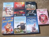 DVDs Disney classics / homeward bound 1&2 + incredible journey / kids dvd