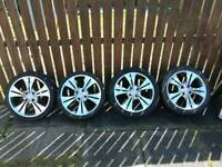 "17"" 4x108 BSA MOTORSPORT ALLOY WHEELS"