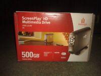 Iomega screenplay HD 500GB for sale