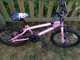 BMX bike, girls pink