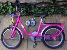 Puky Bicycle Baby Born pink 18 inches. Lovely Bike for any children.