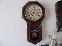 Antique Wall Clock - REGULATOR A