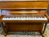 2001 Petrof 115 Modern Upright Piano - Light Cherry - FREE DELIVERY & 2Y WTY