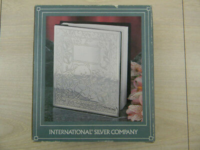 International Silver Company Baby Photo Album-Engraveable-New-UNUSED. for sale  Shelton