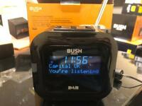 Bush DAB Alarm Clock Radio Black