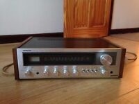 Vintage 1977 Hitachi Stereo Amplifier/AM-FM Stereo Tuner