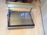 Hot Food over counter Display unit in good working conditions not needed.