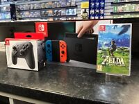 Nintendo Switch - Neon Red/Neon Blue *IN STOCK NOW* - Various Bundles Available