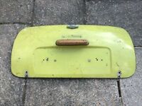 Classic Mini boot lid