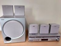 Sony DVD/VCR 5.1 Home Cinema System with remote control