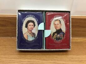Waddingtons Vintage Playing Cards Silver Jubilee