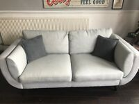 Large 2 seater grey couch for sale. Bought from DFS brand new lady Christmas. Perfect condition