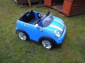 Kids Mini Cooper S