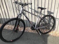 Ladies mountain hybrid bike