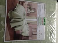 Dormant single Jacquard quilt cover new